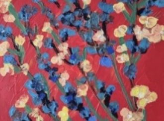 Summer Bouquet Red, Julienne Birch