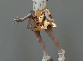 Minnie Mized 2018 Bronze46X18X17Cm