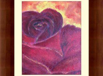 "Martina Mc Nicholl, ""Rose"", oil on canvas, NFS"