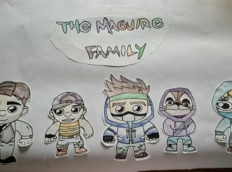 The Maguire Family drawn by Carter