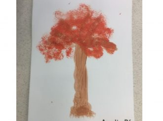 Amelia Broccoli Painting Balnamore Primary School