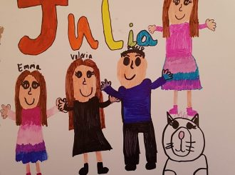 The Cenini Family drawn by Julia