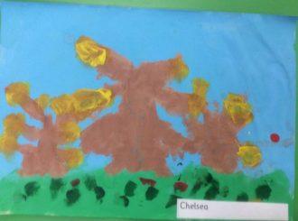 Chelsea Autumn Leaves Balnamore Primary School