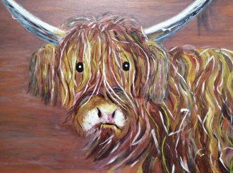 Jock, Cheryl Doyle, oil on canvas