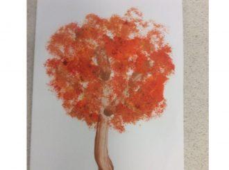 James Broccoli Painting Balnamore Primary School