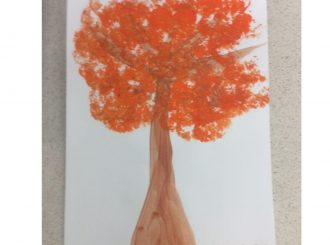 Noah Broccoli Painting Balnamore Primary School