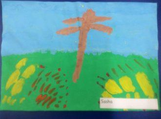 Sasha Autumn Leaves Balnamore Primary School