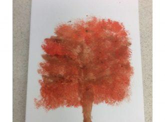 Tyler Broccoli Painting Balnamore Primary School