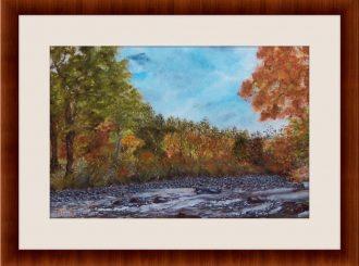 "Martina Mc Nicholl, ""River Roe Turmeel"", oil on canvas, NFS"
