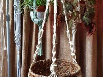 Macrame Plant Hanger 1 002