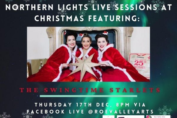 Northern Lights Sessions at Christmas Featuring The Swingtime Starlets