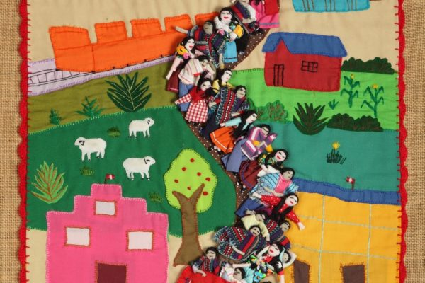 """""""Embracing Human Rights: Conflict Textiles Journey"""""""