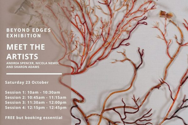 Meet the Artists of Beyond Edges this Saturday 23rd October!