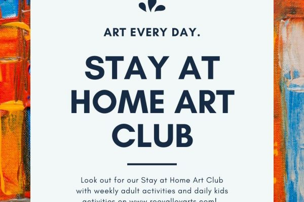 Stay at Home Art Club!