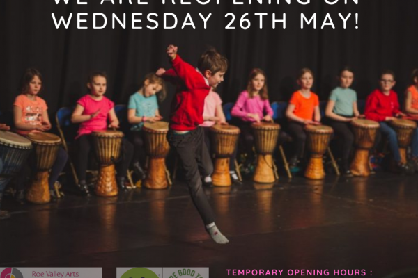 We are re-opening on Wednesday 26th May!