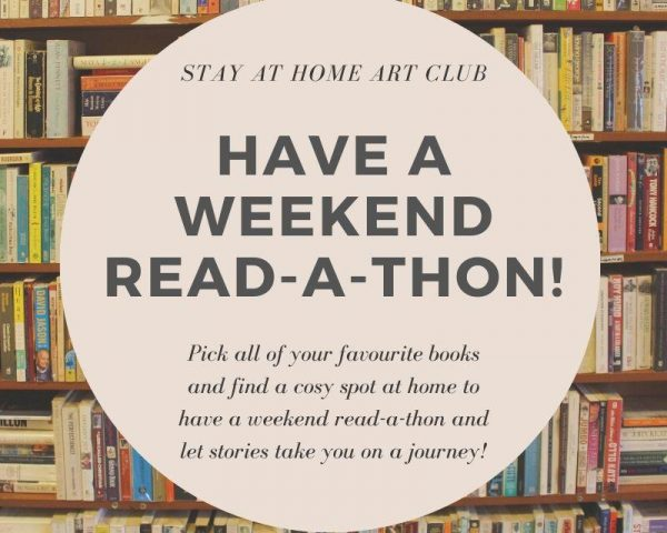 Weekend Challenge - Have a read-a-thon!