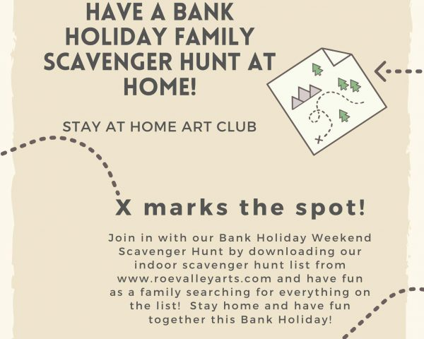 Bank Holiday Weekend Stay Home Scavenger Hunt!