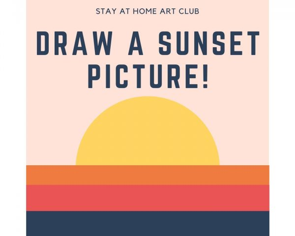 Day 28 - Draw a Sunset Picture!