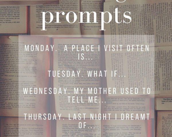 Week 6 - Writing Prompts