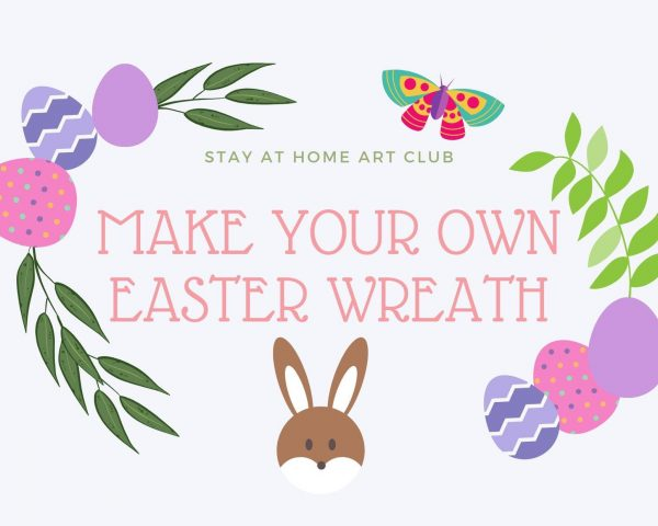 Day 11 - Make an Easter Wreath