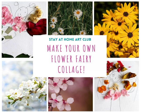 Day 24 - Make your own Flower Fairy Collage!