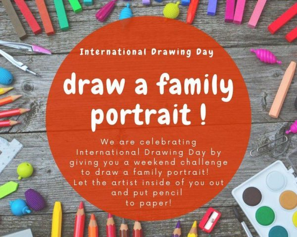 Weekend Challenge - Draw a Family Portrait!