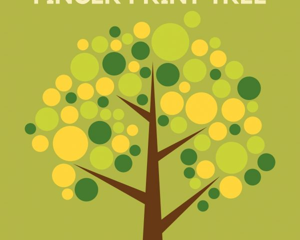 Day 5 - Create your own Finger Print Tree!