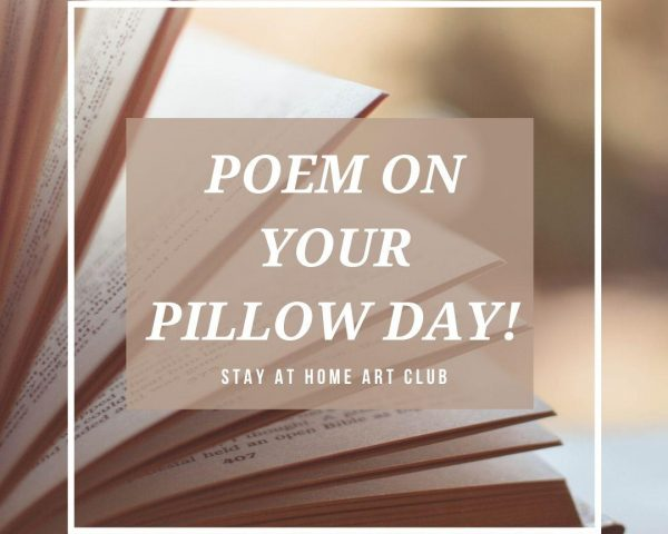 Day 31 - Poem on your Pillow Day!