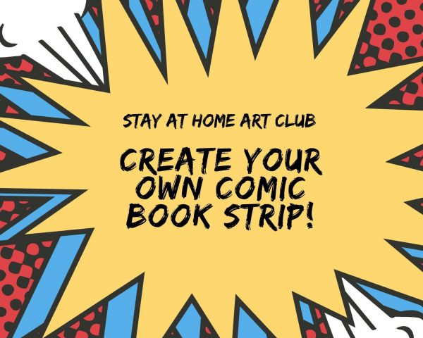 Day 15 - Create your own Comic Book Strip!