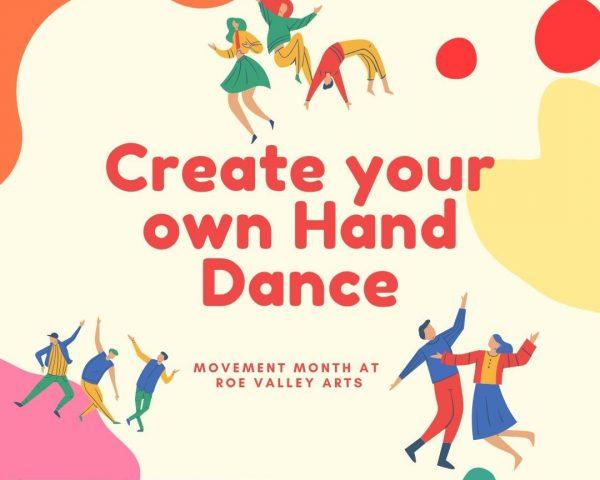Kids Weekend Challenge: Create your own Hand Dance