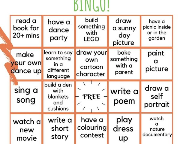 Day 18 - Play our Boredom Breaking Bingo!
