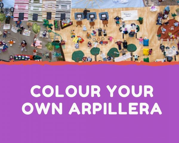 Colour Your Own Arpillera