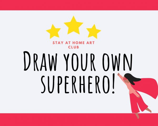 Day 14 - Draw your own Superhero!