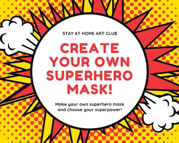 Day 13 - Create your own Superhero Mask!