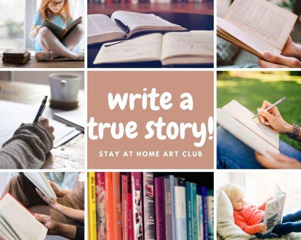 Day 33 - Write a True Story!